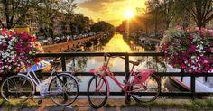 Roteiro de 7 dias em Amsterdã #viajar #amsterdam #holanda