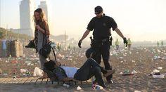 La Guardia Urbana requisa 115.000 bebidas en las playas de Barcelona