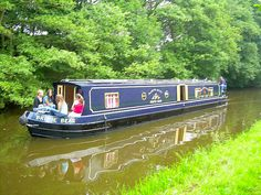 Canal(n:an artificial waterway allowing the passage of boats inland or conveying water for irrigation) Boat Barge Boat, Canal Barge, Canal Boat Narrowboat, Canal Boat Hire, Dutch Barge, Row Row Your Boat, Love Boat, Kingdom Of Great Britain, Floating House