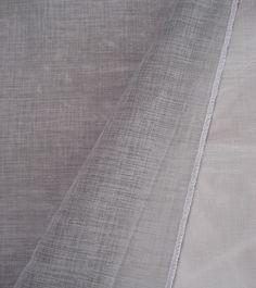voile ETAM GRIS - hauteur 300cm - 24,90€/m - 100% polyester effet lin