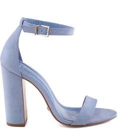 SANDÁLIA  SCHUTZ SALTO BLOCO BLUE AZUL Prom Shoes, Dress Shoes, Shoes Heels, Stilettos, Stiletto Heels, High Heels, Heeled Boots, Shoe Boots, Mode Shoes
