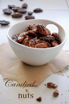 Candied Nuts - Sugar Spiced Pecans