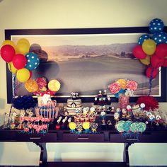 Pinguin theme bday party :)