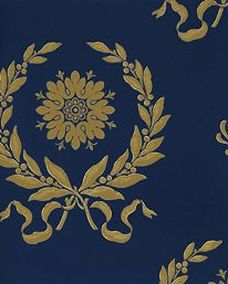 zuber wallpaper   Tapet 87123: Grandes Couronnes från Zuber - Tapetorama