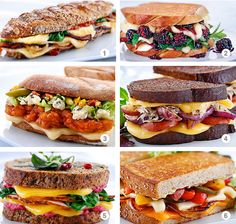6 Winter Grilled Cheese Recipes - yum!
