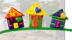 Houses for Haiti... and a Rabbit Trail   TeachKidsArt