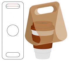Box packaging die cut template design – Design is art Cafe Shop Design, Cafe Interior Design, Coffee Packaging, Box Packaging, My Coffee Shop, Box Patterns, Food Packaging Design, Cup Design, Cover Design