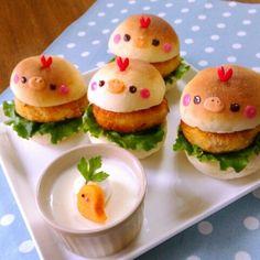 aico s room Food Kawaii, Kawaii Cooking, Kawaii Bento, I Love Food, Good Food, Yummy Food, Japanese Food Art, Cute Baking, Food Art For Kids