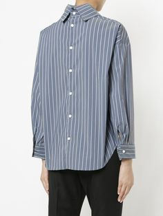 En Route stand-up collar shirt