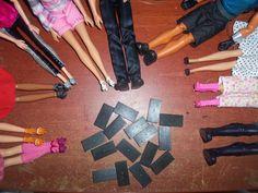 Stars Of Barbie: Dominó diferente!