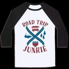 Road Trip Junkie Tee