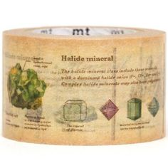 wide minerals mt Washi Masking Tape deco tape