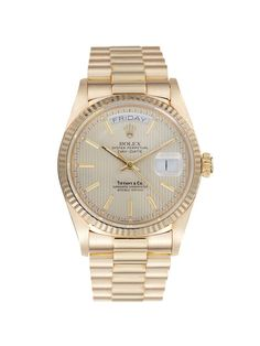 Rolex & Tiffany & Co. Oyster Perpetual Day-Date Watch, 35mm by Rolex at Gilt