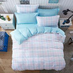 Obojstranné posteľné obliečky v bielej farbe