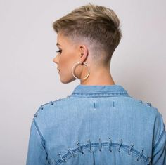 Tapered pixie by Eve Silcock #hairdare #fade