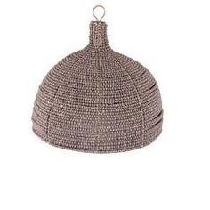 mud beaded dome pendant from Greedilulu