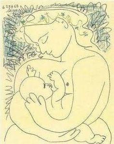 """Pablo Picasso """"Maternidad"""""""