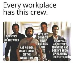 Teamwork Funny, Good Teamwork, Teamwork Quotes, Work Jokes, Work Humor, Workplace Quotes, Night Jobs, Funny Quotes, Funny Memes
