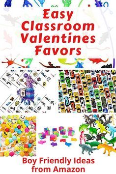 Need a quick & easy solution for Valentine's day? Get non candy valentines favors. Your boys will love to hand them out (or get them!) Super easy for you! Valentines Date Ideas, Valentines Games, Valentines For Boys, Valentines Day Activities, Activities For Boys, Books For Boys, Crafts For Boys, Mom Advice