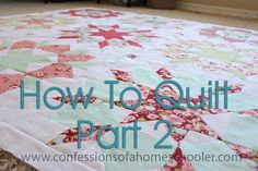 Last week I shared How to Get Started Quilting Part 1 with you. The post got rather long, and so I decided to split it up into 3 parts. Part 1 is your basic supply list, part 2 is going to be about sewing machines. Then next week part 3 is where it gets fun.…Read More