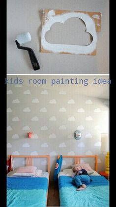 Kids room painting idea