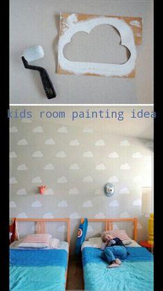 Kids room painting idea