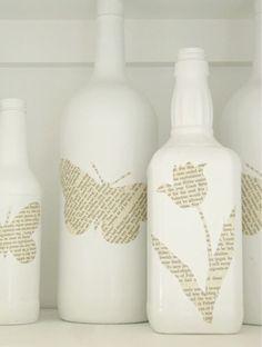I like the white bottles