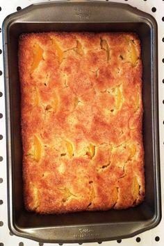 fresh juniper: Grandma JoAnn's Incredible Peach Cobbler Recipe