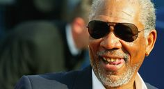 """Actor Morgan Freeman attends """"The Sugarland Express"""" premiere at the 30th Deauville American Film Festival on September 7, 2004 in Deauville, France."""