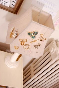 Jewellery storage - why haven't I thought of this?!?