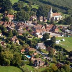 Pluckley Village, Kent, England. Heard of it before.