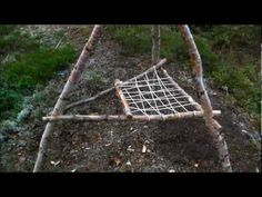 How To Build A Bushcraft Chair.