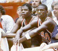 Patrick Ewing, Michael Jordan