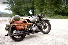 Wow, super rare! A Harley XA - designed to use recycled BMW parts as the allies advanced across europe