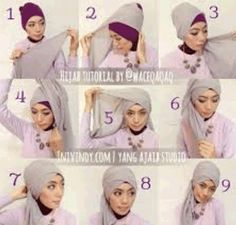 Photo Creation Tutorial Hijab Hijab Paris For the Party