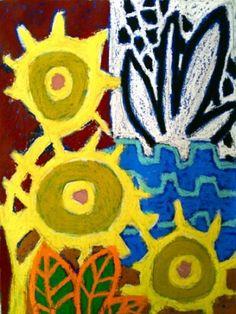 Imaginary garden Aug 25 2010. Oil on linen - 120cm x 160cm . by gordon hopkins