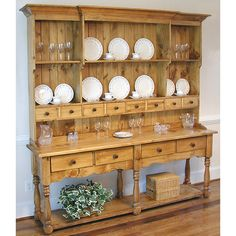 Southern Pine Wide French Farmhouse Hutch Southern Pine Wide French Hutch Always aspired to learn how to knit, yet uncertain where to start? This Utter Beginner K. French Country Kitchens, French Country Bedrooms, French Country Farmhouse, French Country Style, French Country Decorating, French Cottage, Country Hutch, Country Bathrooms, Modern Country