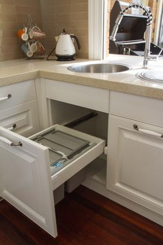 29 Best Ideas About Under Sink Pull Out Trash Can   Trash ...