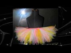 How to Make Different Cuts for Tutus - YouTube