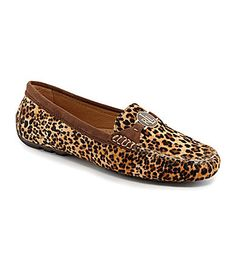 Lauren Ralph Lauren Carley Leopard Loafers #Dillards
