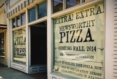 The Pizza Press - COMING SOON to Old Towne Orange