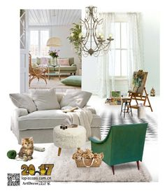 """""""Living Room- Lapis Casa Concept"""" by annie-qiu on Polyvore featuring interior, interiors, interior design, home, home decor, interior decorating, Pine Cone Hill, EASEL, Magnolia Home and Improvements"""