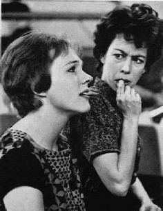Julie Andrews and Carol Burnett. Love love love them both!