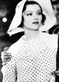 "Myrna Loy in ""Broadway Bill"" (1934)"