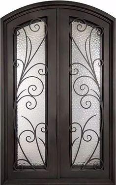 fabricacion de puertas de hierro herreria artistica a pedido
