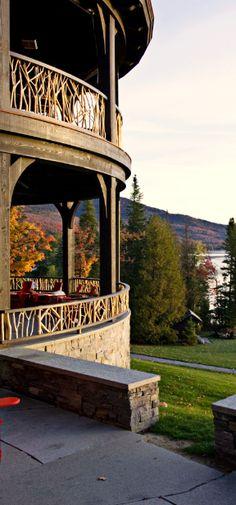 #Jetsetter Daily Moment of Zen: Lake Placid Lodge in Lake Placid, #NewYork