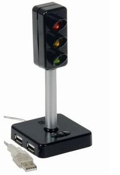 everythingplay USB Traffic Light A clever USB Traffic Light that combines a 4 port hub voice recorder and traffic light that can be used to indicate to your friends and colleagues whether you can be interrupted or not. You can clip o http://www.comparestoreprices.co.uk/gadgets/everythingplay-usb-traffic-light.asp