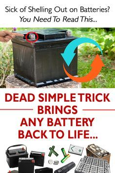 Learn to Give Life to Dead Batteries - Learn more about how over people worldwide are now using this Battery Reconditioning guide. Learn to Give Life to Dead Batteries - Save Money And NEVER Buy A New Battery Again Battery Recycling, Golf Cart Batteries, Lead Acid Battery, Software, Bring It On, Learning, Youtube, Survival, Diy Crafts Home