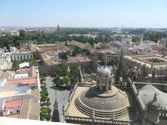 View from Seville bell tower