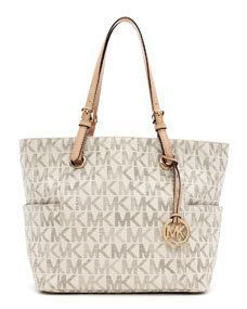 Michael Kors Purse Silver Some Wear And Tear Around The Bottom Of